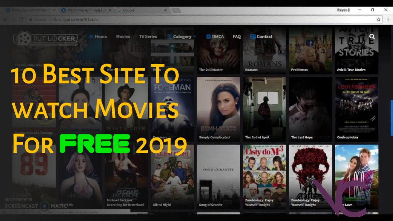 10 Best Site To watch Movies For Free 2019