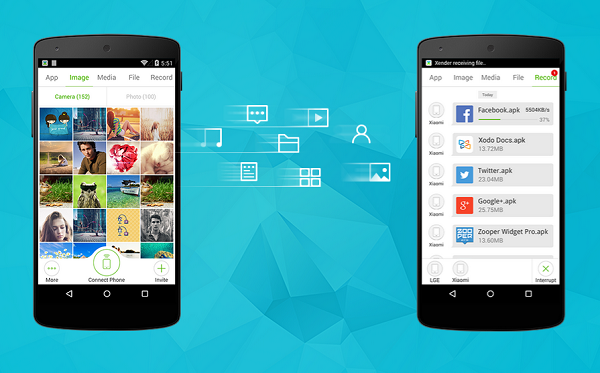 10 Fastest Apps To Transfer Files Wirelessly On Android.