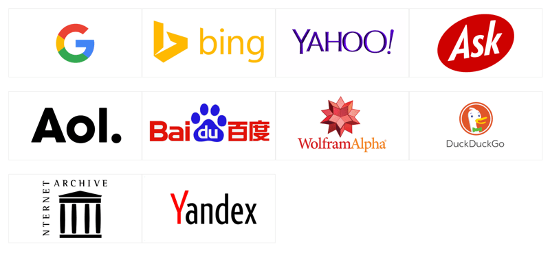 Best 10 Search Engines 2019 | No 1 is undoubted.