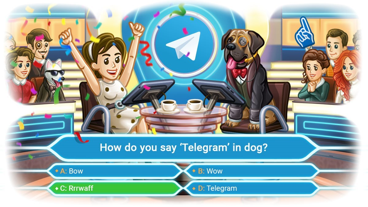 Telegram Update Includes Quiz Mode, Apart from Message Corners and Other New Features
